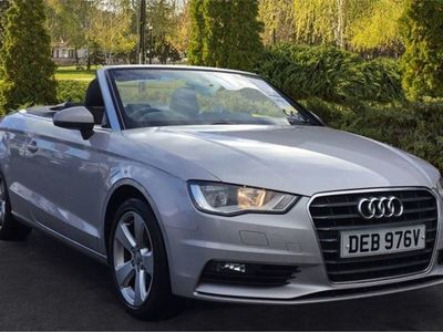 used Audi A3 Cabriolet 1.4 TFSI 150 Sport 2dr