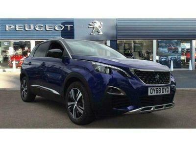 used Peugeot 3008 1.2 PureTech GT Line 5dr Petrol Estate