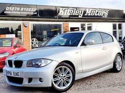 used BMW 116 1 SERIES D M SPORT 2.0 3 DOOR