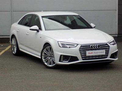 used Audi A4 S Line 35 Tfsi 150 Ps 6-Speed 4-Door