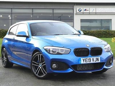 used BMW 118 1 SERIES 2019 Stoke On Trent D M Sport Shadow Edition 3-Door