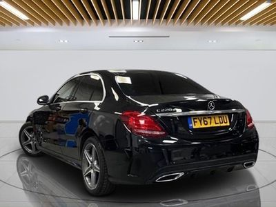 used Mercedes C220 C-Class Saloond AMG Line 9G-Tronic Plus auto (12/16 on) 4d