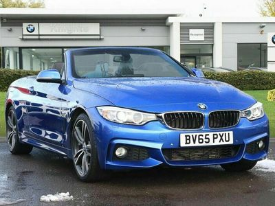 used BMW 420 4 Series d M Sport Convertible 2.0 2dr
