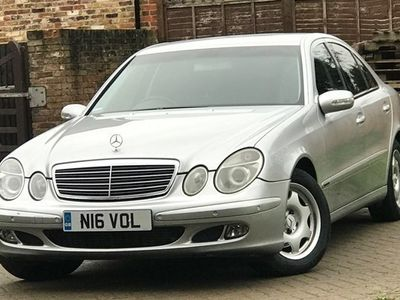 used Mercedes E200 E-Class SaloonAvantgarde 4d Auto