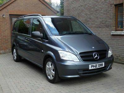 used Mercedes Vito 2.1 CDI BlueEFFICIENCY Dualiner Compact Panel Van 5dr (EU5)