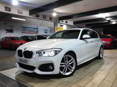 used BMW 118 1 Series 2.0 d M Sport Auto (s/s) 5dr