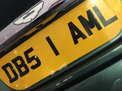 used Aston Martin DBS V12 NUMBER PLATE ONLY