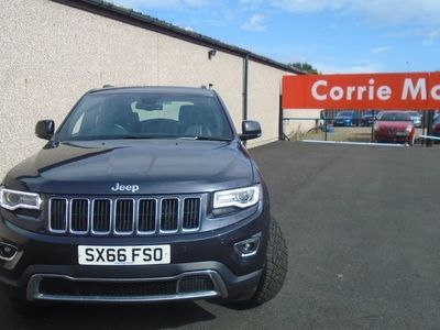 used Jeep Grand Cherokee 3.0 CRD Limited Plus 5dr Auto [Start Stop] suv 2016