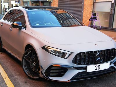 used Mercedes A45 AMG A Class 2.0S Plus 8G-DCT 4MATIC+ (s/s) 5dr