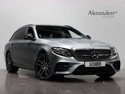 used Mercedes E53 AMG E Class 3.0BiTurbo EQ Boost AMG SpdS TCT 4MATIC+ (s/s) 5dr