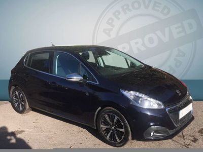 used Peugeot 208 2018 Wooburn Green 5dr Hat 1.2 Puretech 82 Tch Edn S/s