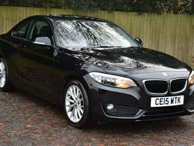 used BMW 218 2 Series 2.0 d SE (s/s) 2dr