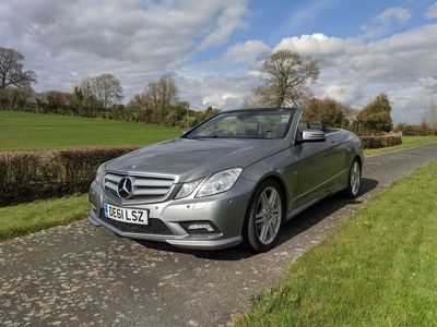 used Mercedes E250 E Class 1.8BlueEFFICIENCY Sport Edition 125 Cabriolet 7G-Tronic Plus (s/s) 2dr