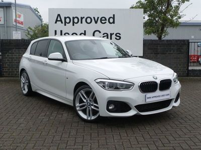 used BMW 120 1 SERIES 2016 Preston Farm Industrial Estate d M Sport 5dr [Nav] Step Auto