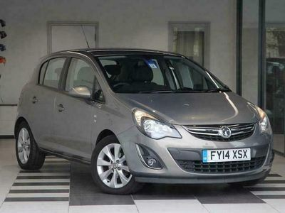 used Vauxhall Corsa 1.2i 16v (85ps) Excite 5-Door Hatchback 5dr