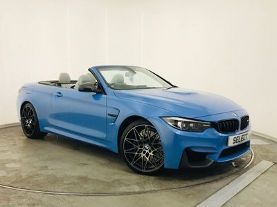 used BMW M4 3.0 BiTurbo GPF (Competition Pack) DCT (s/s) 2dr