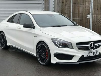 used Mercedes CLA45 AMG CLA Class[381] 4Matic 4dr Tip Auto Saloon 2015