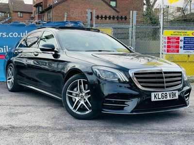 used Mercedes S350L S Class 3.0d AMG Line (Executive) G-Tronic+ (s/s) 4dr