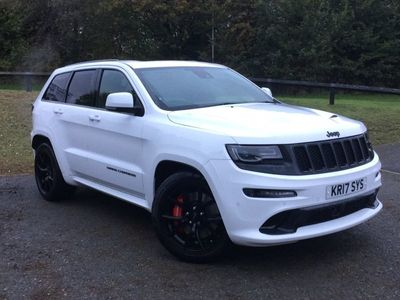 used Jeep Grand Cherokee 6.4 V8 SRT Night Auto 4WD (s/s) 5dr