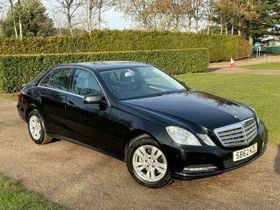 used Mercedes E200 E-Class 2.1CDI BLUEEFFICIENCY S/S SE 4d 136 BHP FMBSH MOT 03/22 6 Months Warr
