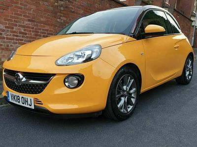 used Vauxhall Adam 1.0i Turbo ecoTEC Unlimited (s/s) 3dr