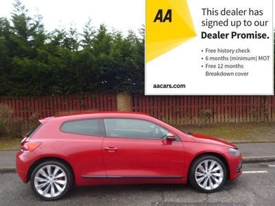 used VW Scirocco 2.0 TSI GT 3dr