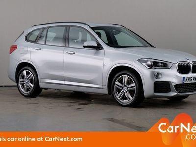 used BMW X1 SUV xDrive20i M Sport 5d Step Auto