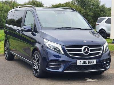 used Mercedes V250 V Class 2.2AMG Line G-Tronic+ EU6 (s/s) 5dr 7 Seat
