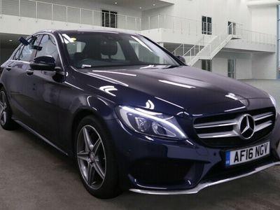 used Mercedes C300 C ClassAMG Line Premium Plus 4dr Auto For Sale Reg:AF16 NGV