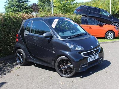 used Smart ForTwo Cabrio Petrol Grandstyle 2dr Softouch Auto 84