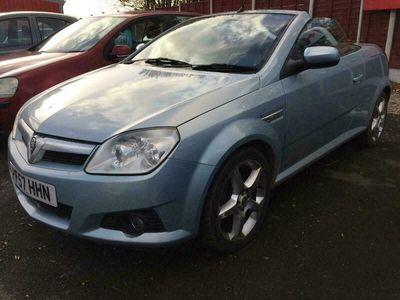 used Vauxhall Tigra 1.8i 16V Exclusiv 2dr
