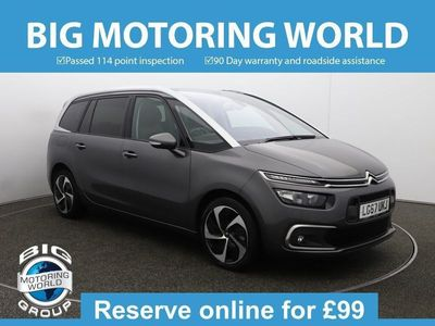 used Citroën C4 GRAND BLUEHDI FLAIR S/S EAT6 for sale | Big Motoring World