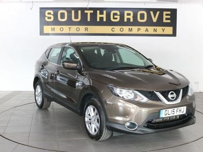 used Nissan Qashqai 1.2 ACENTA DIG-T SMART VISION 5d 113 BHP ** 6 MONTHS NATIONWIDE WARRANTY **