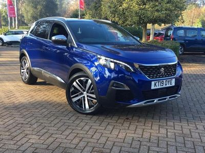 used Peugeot 3008 SUV 2.0 BlueHDi GT EAT (s/s) 5dr Auto diesel estate