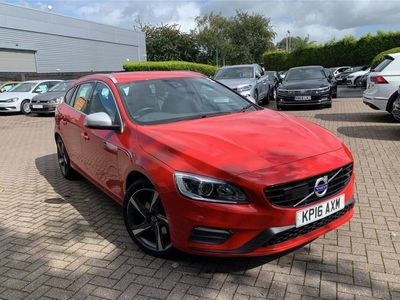 used Volvo V60 D4 [190] R DESIGN Lux Nav 5dr Geartronic