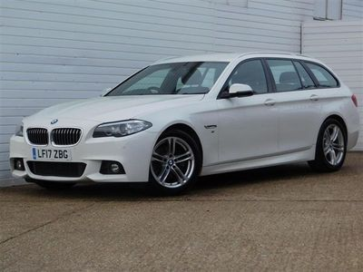 used BMW 520 5 SERIES 2.0 D M SPORT TOURING 5d 188 BHP