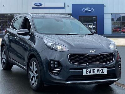 used Kia Sportage 2016 Worcester 1.6T GDi GT-Line 5dr DCT Auto [AWD] Petrol Estate