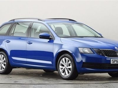 used Skoda Octavia 1.6 TDI CR S 5dr Blue Manual Diesel