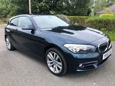 used BMW 116 1 Series 1.5 d Sport Auto (s/s) 3dr