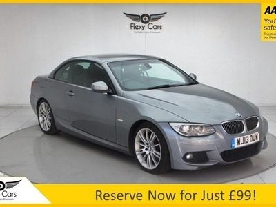 used BMW 330 Cabriolet 3.0 330D M SPORT 2d 242 BHP