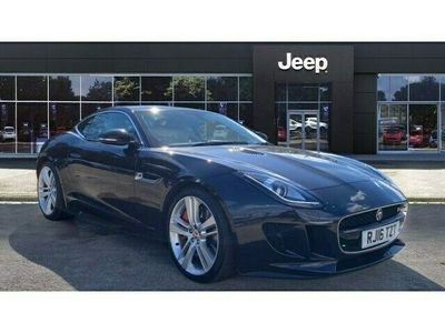 used Jaguar F-Type 3.0 Supercharged V6 S 2dr Auto Petrol Coupe