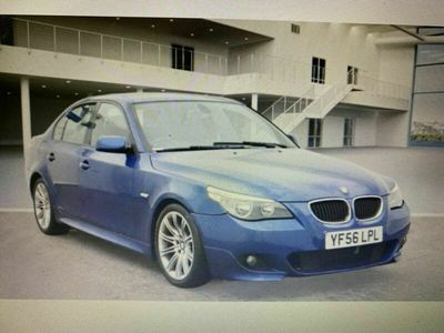 used BMW 525 5 Series 2.5 d M Sport 4dr