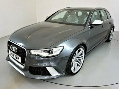 used Audi RS6 4.0AVANT TFSI V8 QUATTRO 5d AUTO 560 BHP-1 OWNER FROM NEW