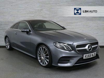 used Mercedes E220 E ClassAMG Line Premium 2dr 9G-Tronic Coupe diesel coupe