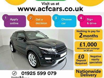 used Land Rover Range Rover evoque SD4 DYNAMIC - CAR FINANCE FR £241 PCM