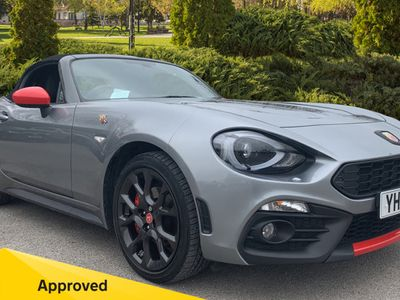 used Abarth 124 Spider 1.4 T Multiair 2Dr