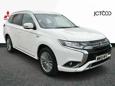 used Mitsubishi Outlander 2.4 PHEV Juro 5dr Auto estate
