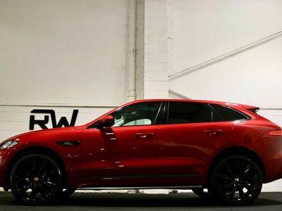 used Jaguar F-Pace 2.0d R-Sport Black Edition Auto AWD (s/s) 5dr