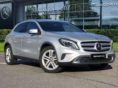 used Mercedes GLA250 GLA Class Gla4Matic SE 5dr Auto [Premium] suv 2014