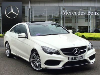 used Mercedes E350 E ClassAMG Line Edition 2dr 9G-Tronic Coupe 2017